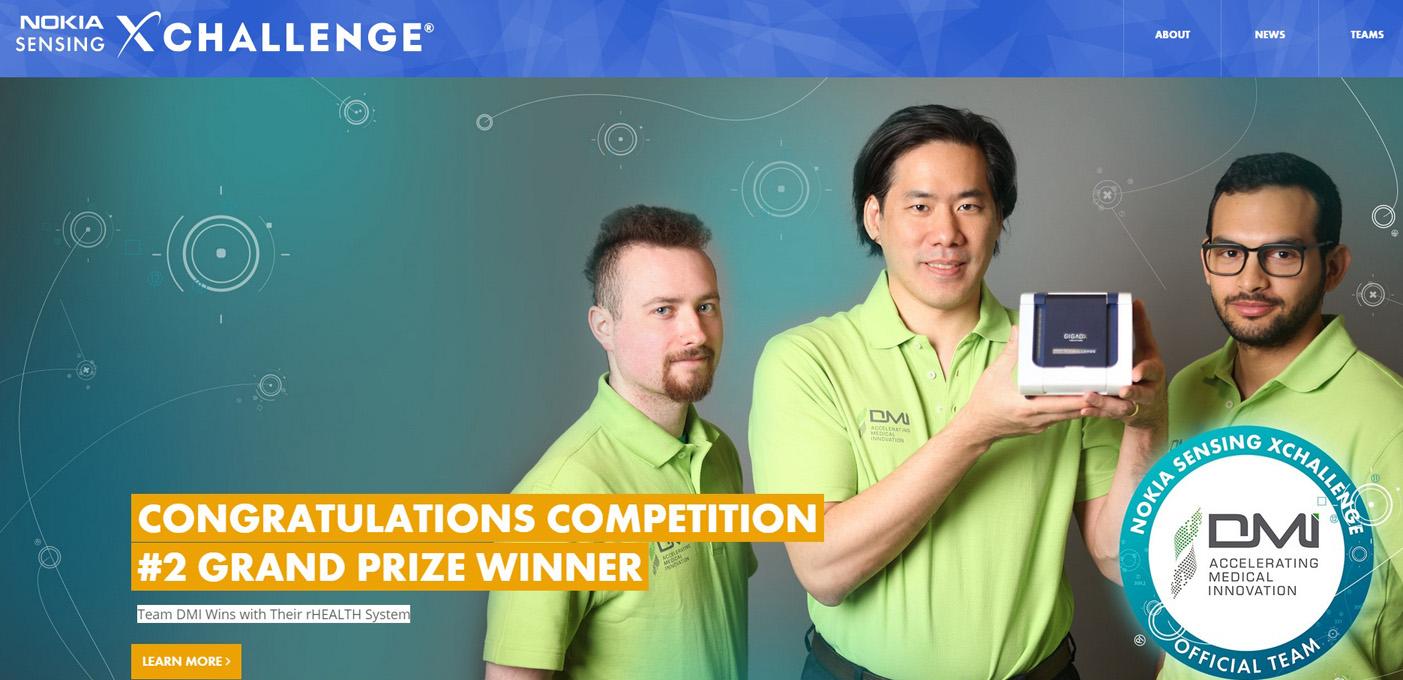 Nokia Sensing XChallenge Winners